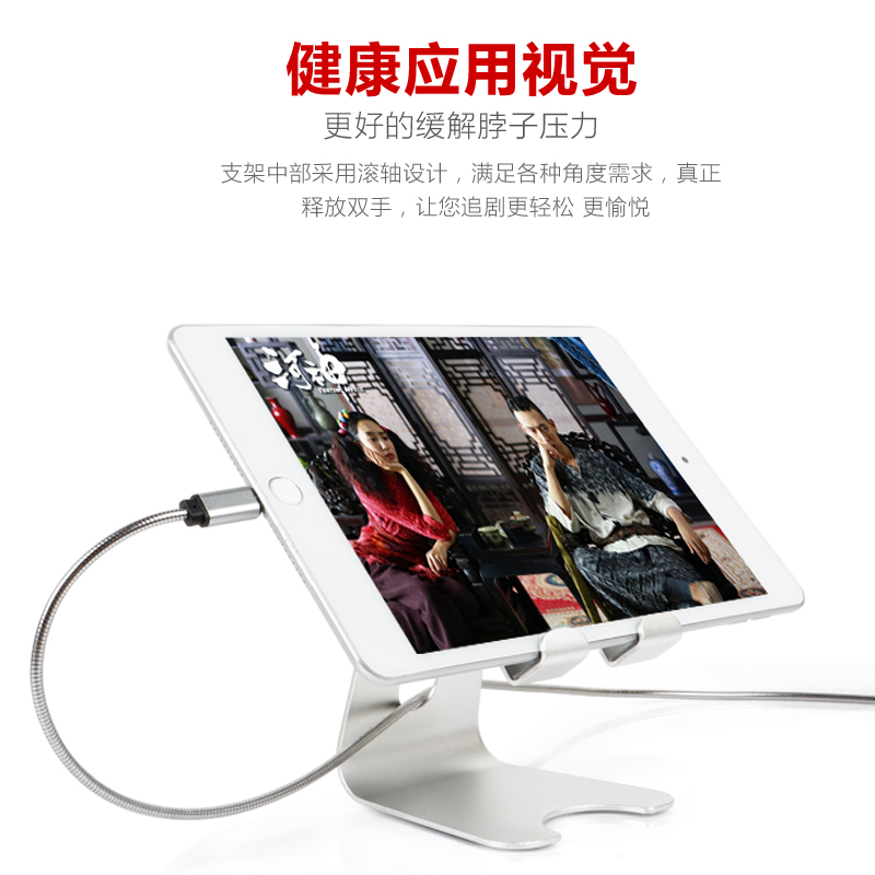 COMER Universal Mobile Phone Holder Lazy Cellphone Tablet Desk Stand For iPhone Ipad Cell