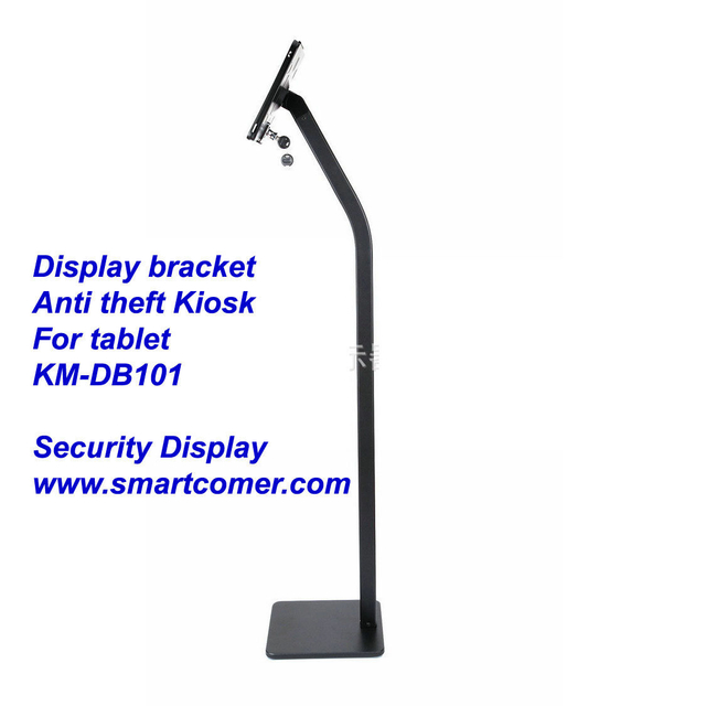 COMER advertising anti-theft stands display for tablet ipad in shop, hotels, restaurant
