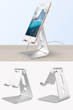 COMER portable  mobile phone holder cell phone tabletop display alloy metal stands - Comerbuy.com
