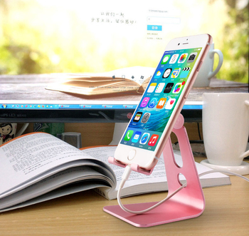 COMER portable  mobile phone holder cell phone tabletop display alloy metal stands