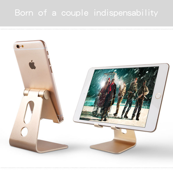 COMER portable cell phone tabletop display alloy metal stands for retail shops desktop