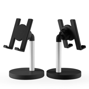COMER 40 degree adjustable newest product rotatable desktop metal allumunum alloy mobile phone stand with manufacture price - Comerbuy.com