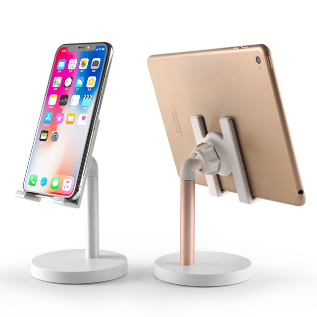 COMER 40 degree adjustable newest product rotatable desktop metal allumunum alloy mobile phone stand with manufacture price