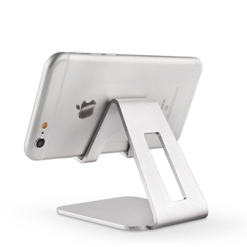 COMER Aluminum Phone Holder Desktop Cell Phone Stand Universal Premium Metal holder For iPhone 7 Plus iPad Samsung galaxy - Comerbuy.com