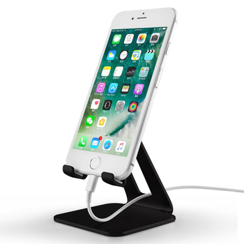 COMER Aluminum Phone Holder Desktop Cell Phone Stand Universal Premium Metal holder For iPhone 7 Plus iPad Samsung galaxy