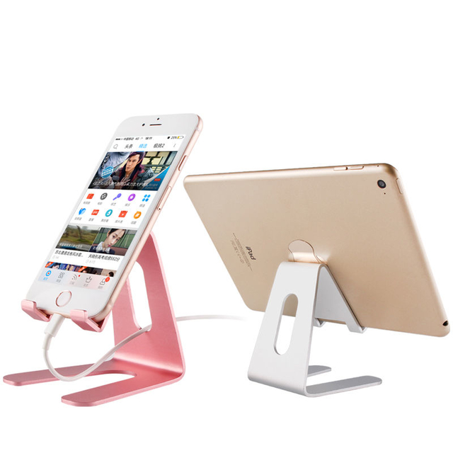 COMER Universal Portable Desktop Cell Phone Desk Stand Holder Smartphone Mount Support For Tablet PC