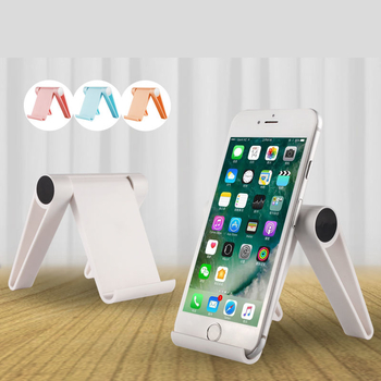 COMER Cell phone stand tablet stand universal foldable multi-angle desktop holder for smartphone e-reader
