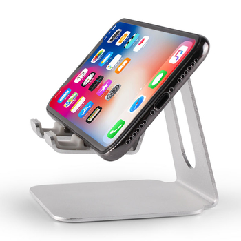 COMER Universal product super quality adjustable metal aluminum alloy lazy desktop office mobile phone stand holder - Comerbuy.com