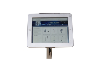 COMER advertising display locking security for tablet ipad in shop, hotels, restaurant