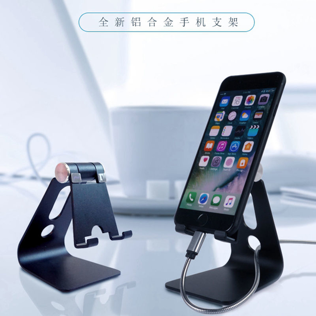 COMER New creative Adjustable Lazy tablet holder foldable mobile cell phone Desk stand For gift