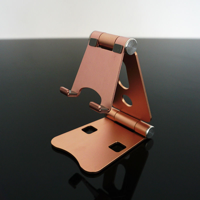 COMER Multiple Color Foldable Adjustable Aluminum Phone Stand Holder Desk Phone holder Bracket For Cell Phone & Tablet