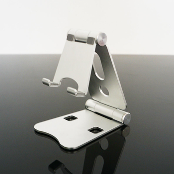 COMER Multiple Color Foldable Adjustable Aluminum Phone Stand Holder Desk Phone holder Bracket For Cell Phone & Tablet - Comerbuy.com