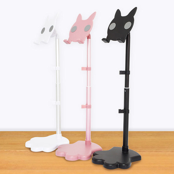 COMER Height Adjustable Phone Stand Holder Desk Phone holder Bracket For Cell Phone & Tablet